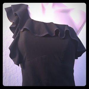 Black Mini- Dress